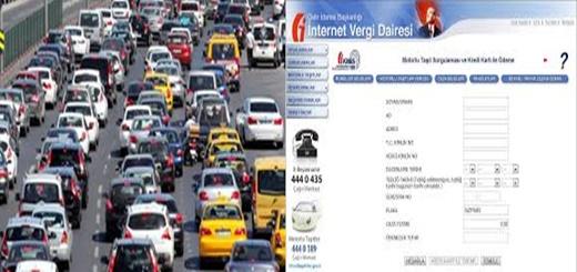 Araç vergisi  İnternetten ödeme Resimli Anlatım