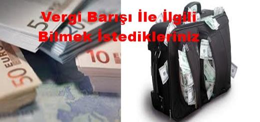 Varlık Barışı ile  Yurtdışında ki Paranızı Türkiye'ye Getirme