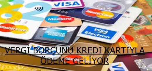 Vergide Nakit Yerine Kredi Kartı ile Ödeme Geliyor